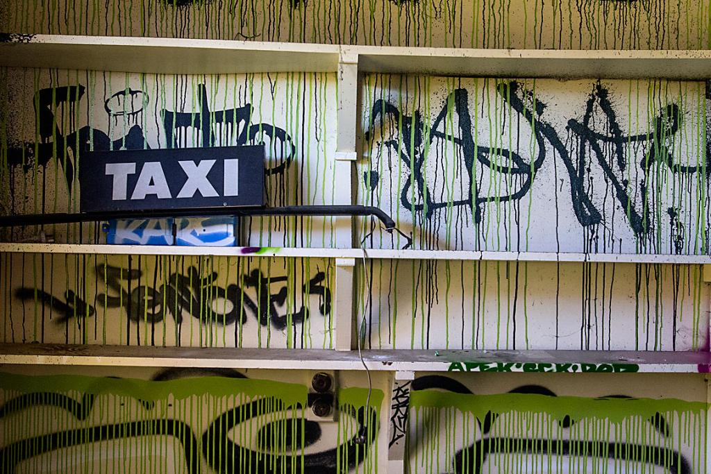 ART HOUSE: Ren Bell's house is covered in graffiti inside and out. The quake-damaged Cranford St house is open to the public until its demolition.