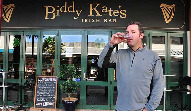 Biddy Kate's Irish Bar and Terry Sloan
