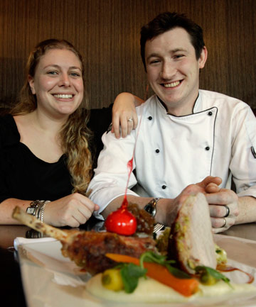 Andrew and Julia Clarke, of Hamilton's Victoria Street Bistro have a spot in the book.