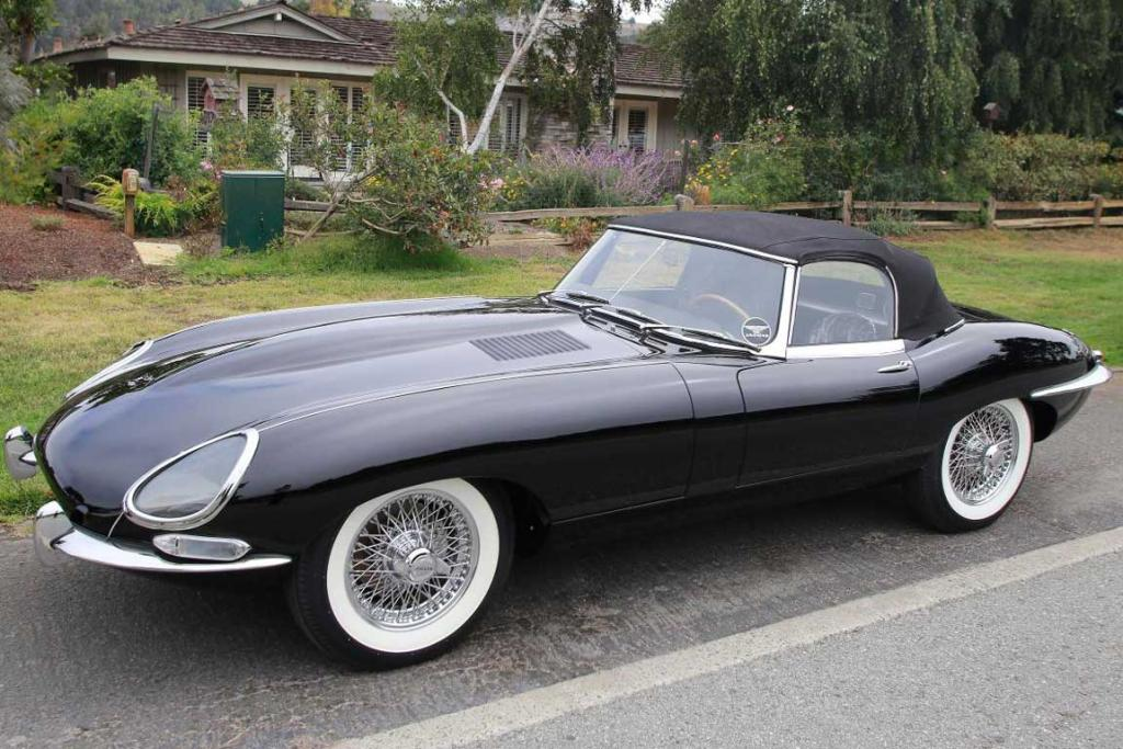 A superb Jaguar E-Type at the 2014 Monterey Car Week.