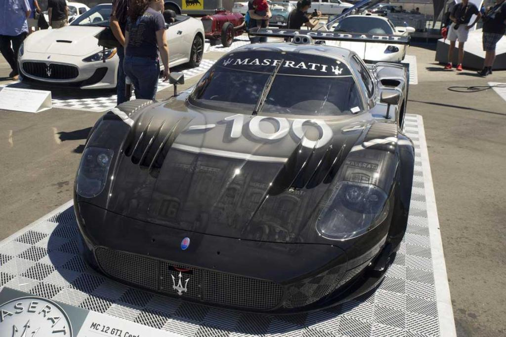 A Maserati MC 12 GT1 Centenario at the 2014 Monterey Car Week.