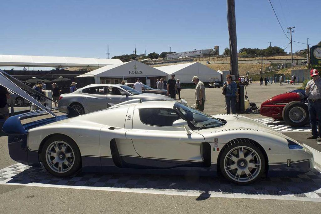 A Maserati MC 12 at the 2014 Monterey Car Week.