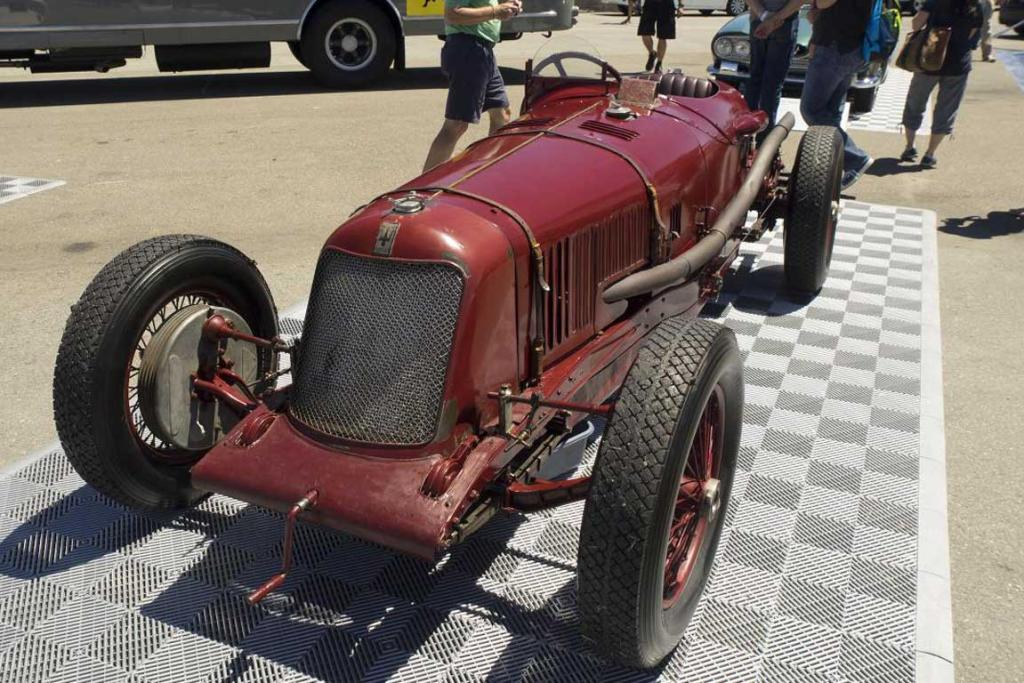 A 1928 Maserati Tipo at the 2014 Monterey Car Week.