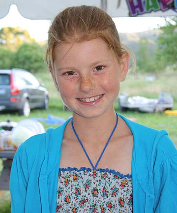 FOREVER GRATEFUL: Samara McKenzie, 12, says the children's charity Heart Kids NZ provide a fantastic service.