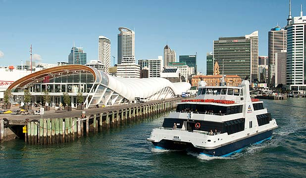CONTROVERSIAL SITE: Queens Wharf is the proposed home for a sculpture of a state house by Michael Parekowhai.