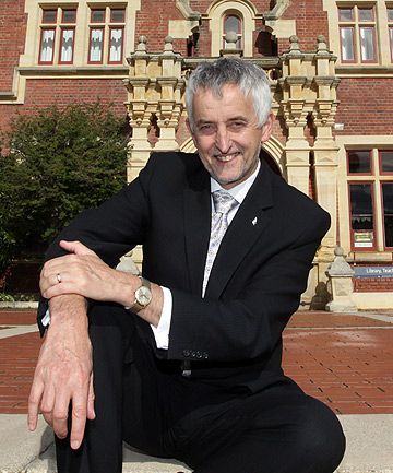 Andrew West, Vice-Chancellor of Lincoln University