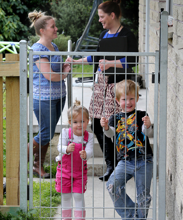 timaru housing new zealand fence childproof kimberley powell kate milton lillian liam