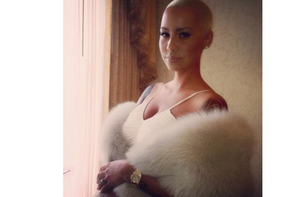 Amber Rose's surprising wedding dress