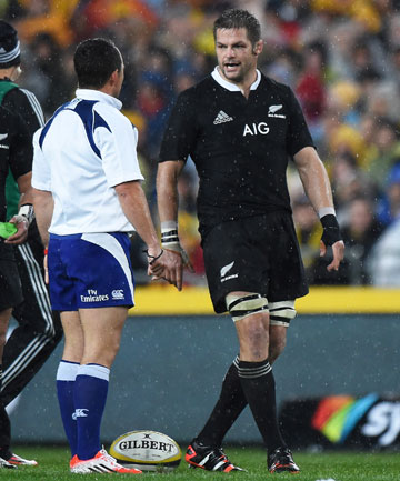 BIG CALLS: South African referee Jaco Peyper has come under fire for his officiating in last week's 12-12 Bledisloe Cup draw in Sydney.