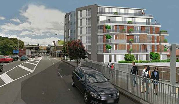 BIG PLANS: The development on the corner of Khyber Pass Rd and Huntly Ave in Grafton.