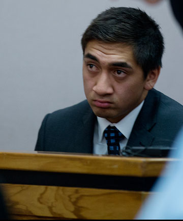 DISCHARGED: Korotangi Paki appears in the Auckland District Court on charges of theft and Drink Driving in July.