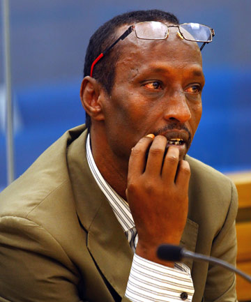RAPE ACCUSED: Former Dial-A-Cab taxi driver Keyse Awil Abdi, 48, pictured in the Hamilton District Court during the week-long trial.