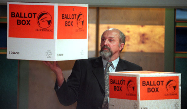 WEIGH UP YOUR VOTE: Don't take it personally if my vote on the left cancels out your vote on the right.