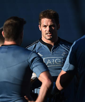 DETERMINATION: All Blacks skipper Richie McCaw knows there is plenty riding on tomorrow night's Bledisloe Cup test against the Wallabies at Eden Park.