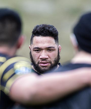 TWIN TASKS: Hooker Motu Matu'u has two jobs on his plate today, first to inspire Wellington against Northland and second to stake a claim for the All Blacks.