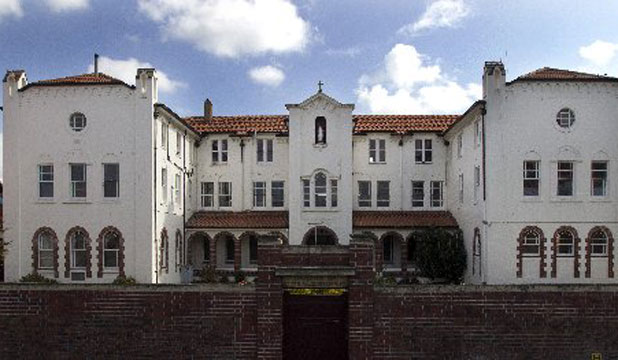 UNDER THREAT: The 1939 Spanish-revival-styled convent and hostel Euphrasie House.