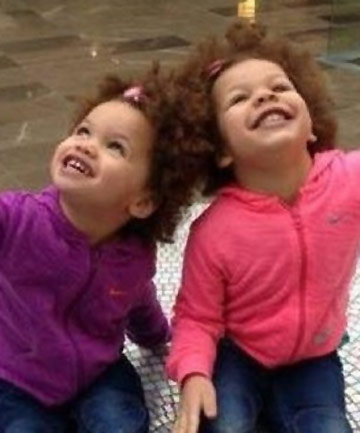 MURDERED: Savannah, 4, and Indianna, 3.