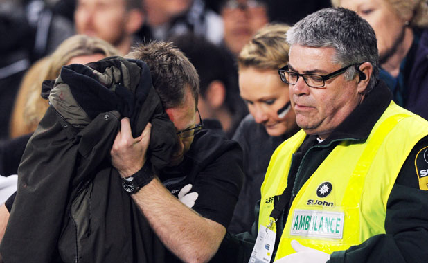 Person injured at Bledisloe Cup