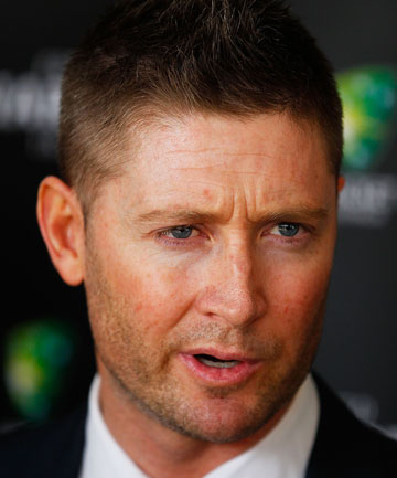 RULED OUT: Australian captain Michael Clarke will miss his side's clash with Zimbabwe due to a hamstring complaint.