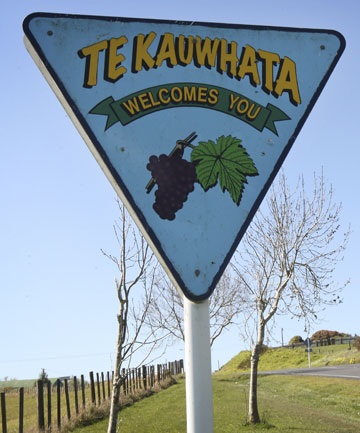 WINE NOT: Te Kauwhata has been the centre of a wine growing area for over a century.