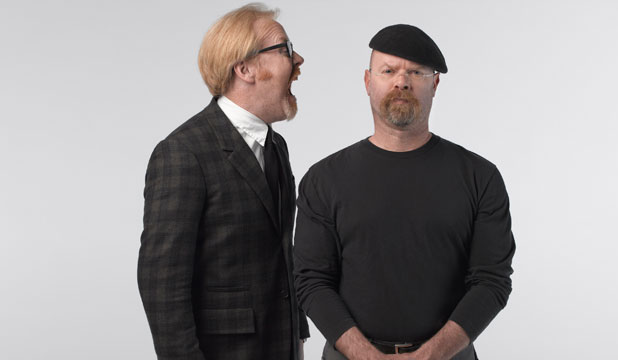 MYTHBUSTERS: Adam Savage and Jamie Hyneman will be making a whistlestop tour here to perform their Mythbusters - Behind the Myths stage show in Auckland.