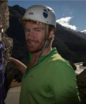 KEEN CLIMBER: Ari Ross Kingan died on Mt Aspiring.