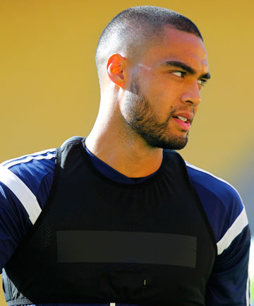 ON THE MOVE?: All Whites and West Ham defender Winston Reid continues to be linked with a move to Arsenal.
