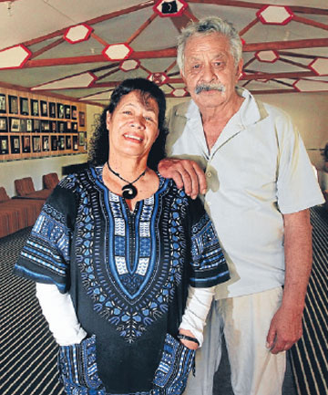 TIME FOR CHANGE: Te Hora Marae committee members Elaine and Tom Wilson say it's time their marae, at Canvastown, is expanded.