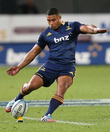 LIMA SOPOAGA: Southland's No 10 will be up against Highlanders team-mate Hayden Parker when the Stags face Otago on Saturday.