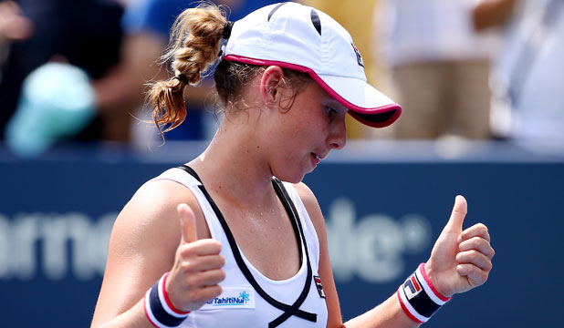 KIWI NO 1: Marina Erakovic has progressed to the US Open second round in both singles and doubles.