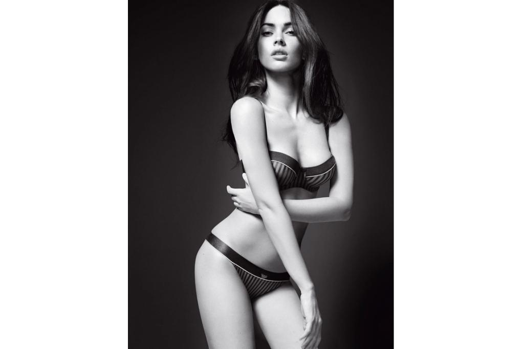 MEGAN FOX: She's widely considered to be one of the most beautiful women in the world and with this sultry campaign for Emporio Armani, Megan Fox undoubtedly cemented that reputation.