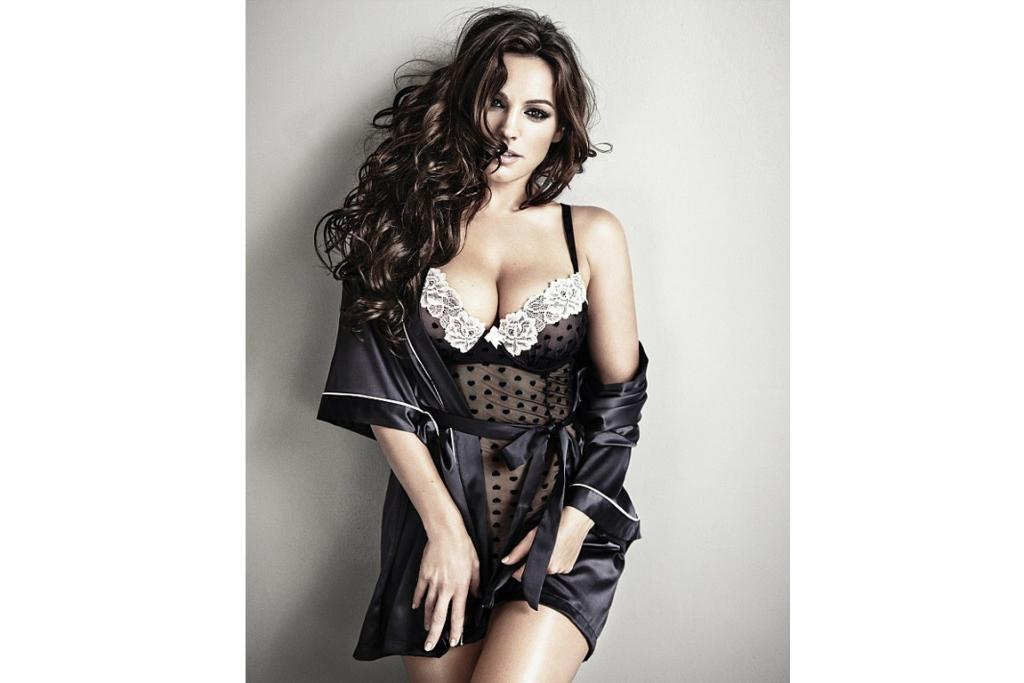 KELLY BROOK: When it comes to appearing half-clad in men's mags and taking out top spots on 'sexiest' lists, few have more experience than 34-year-old actress and presenter Kelly Brook. After being cast as the face of Ultimo lingerie a few years back, the British beauty now produces her own underwear and swimwear lines for high street fashion brand New Look.