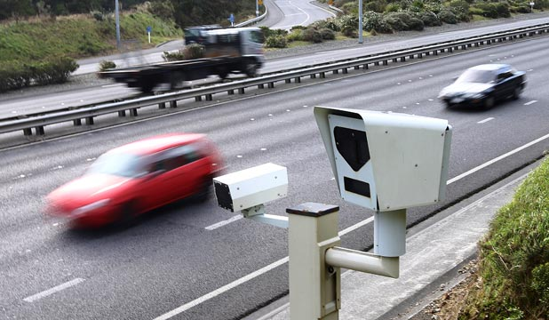 SNAP HAPPY: Hundreds of tickets have been issued in the first weeks of Wellington's hi-tech camera being in use.
