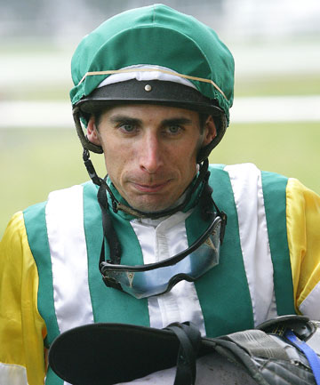 UNDER FIRE: Disgraced jockey David Walker.
