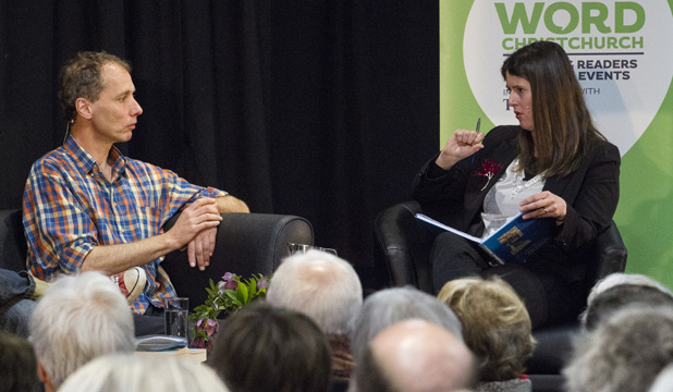 Nicky Hager in conversation at WORD festival
