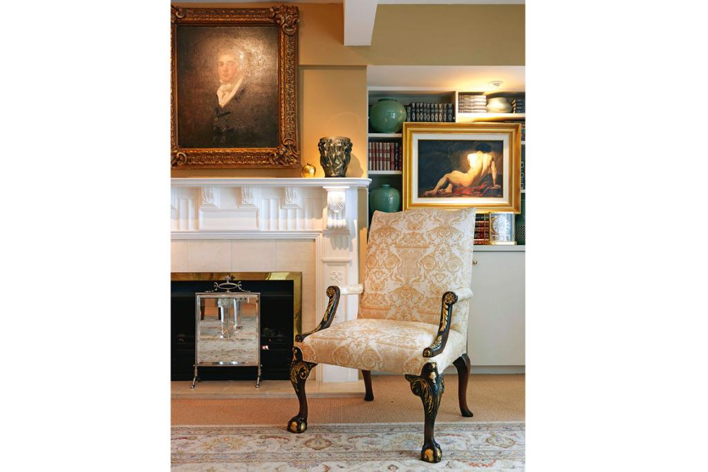 """PURE OPULENCE: """"I like the look of luxury and a certain lushness,"""" says the home's owner Alfred Dell'Ario."""