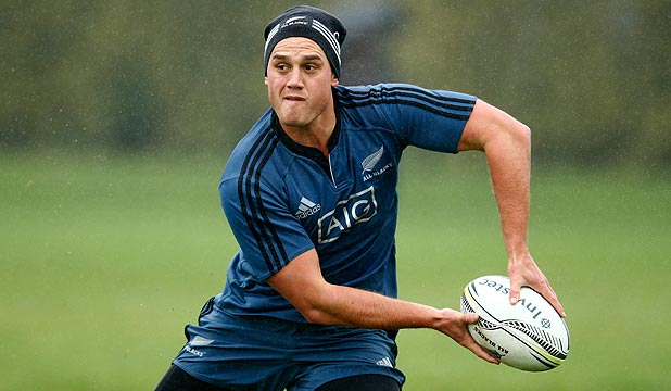 BACK IN?: Israel Dagg was fully involved in yesterday's training, suggesting a possible start at fullback against Argentina in Napier on Saturday night.