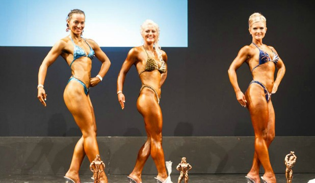 Blenheim body builder Renee Craw