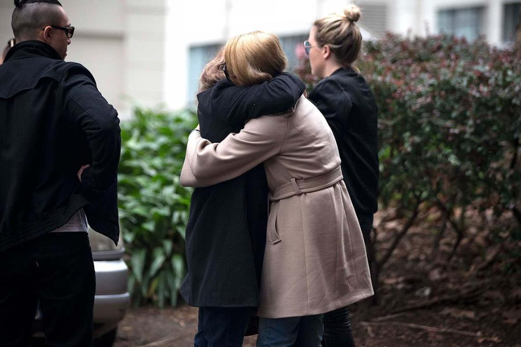 Parents, family and friends of Connor Morris leave the Auckland High Court frustrated that the accused did not have to appear in front of the judge.