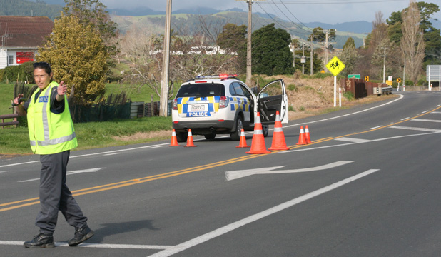 Police cordon after gunshots heard near Puriri, Hauraki