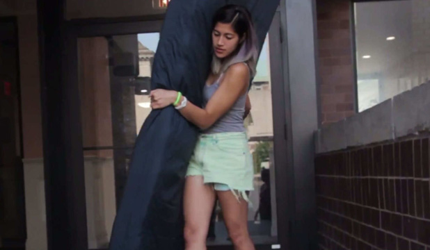 TAKING A STAND: Columbia student Emma Sulkowicz pledges to carry a mattress every day till her alleged rapist leaves campus.