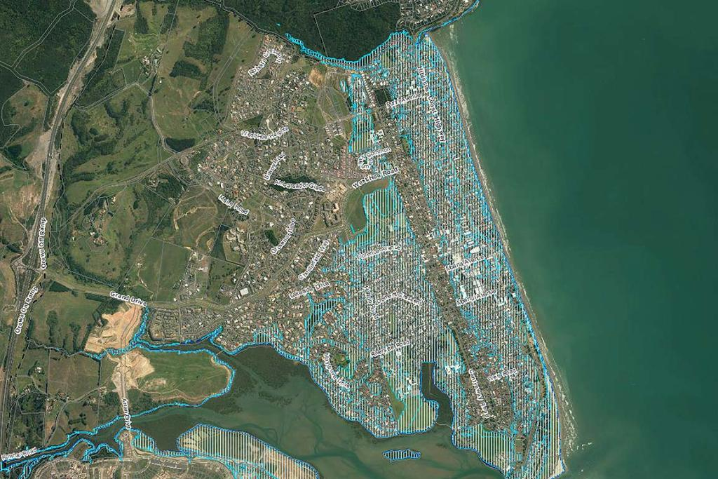 2M SEA LEVEL RISE: Orewa