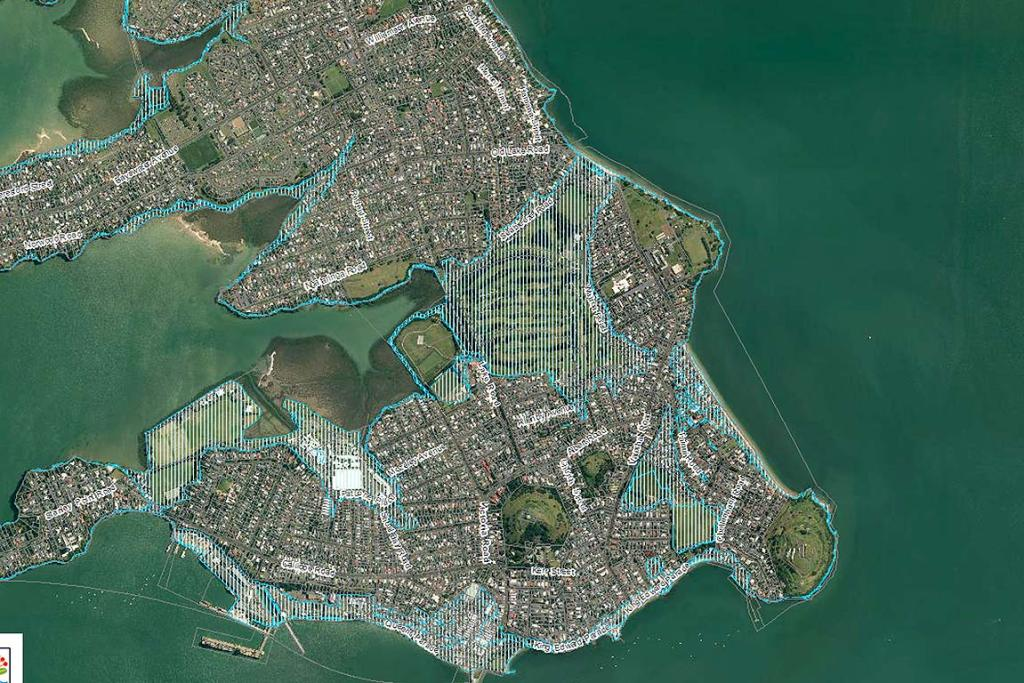 2M SEA LEVEL RISE: Devonport
