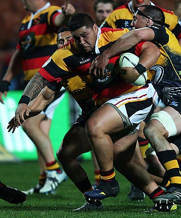 MADE TO WAIT: Waikato prop Ben Tameifuna will find out his punishment today.