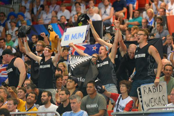 Tall Blacks fans