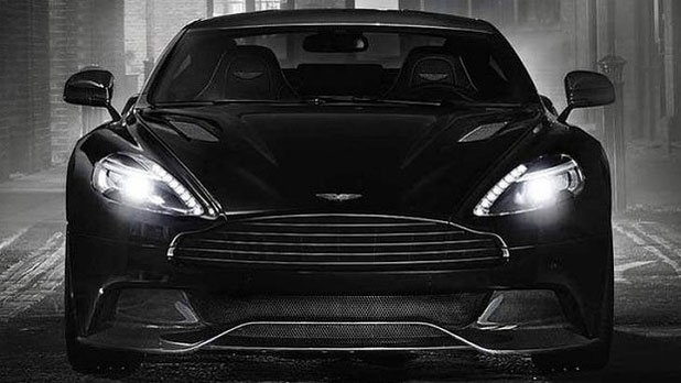 All Black Aston Martin Vanquish Carbon Edition Stuff Co Nz