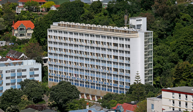 SOLD: The Gordon Wilson Housing New Zealand complex on The Terrace.