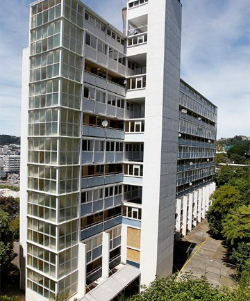 SOLD: The Gordon Wilson flats in central Wellington could be demolished after they were bought by Victoria University. CRAIG SIMCOX/Fairfax NZ