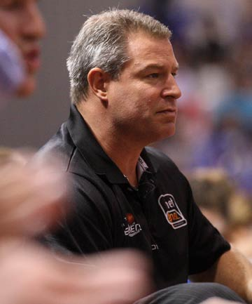 BUSY TIMES: Breakers coach Dean Vickerman has plenty of work to do with the squad ahead of the Australian NBL season.