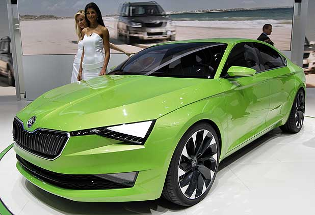 Skoda Has Designs On The Future Stuff Co Nz